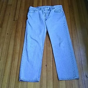 "Levi's 501 Jeans 31""  inseam 36"" waist"